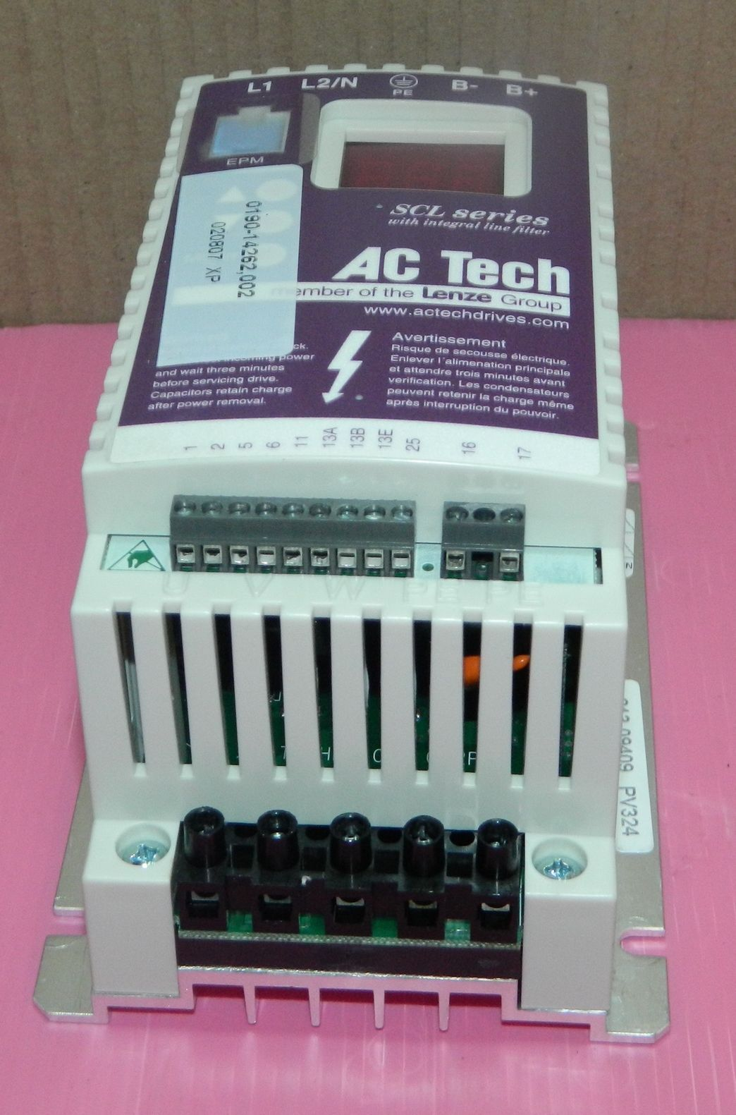 AC Tech SL205S Variable Speed AC motor  Drive